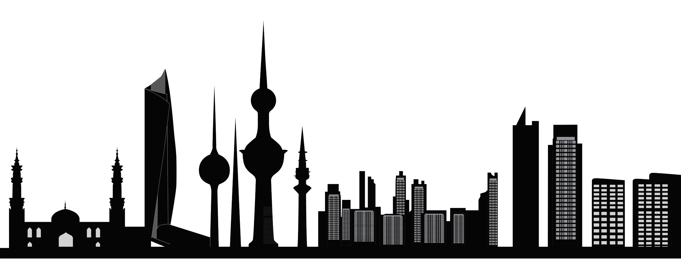 Kuwait Skyline Black And White Wiring Diagrams Ring Current Generator Circuit Diagram Telephonerelatedcircuit Union Of Automobile Agents City